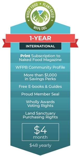 WFPB.ORG Membership | 1 Year International