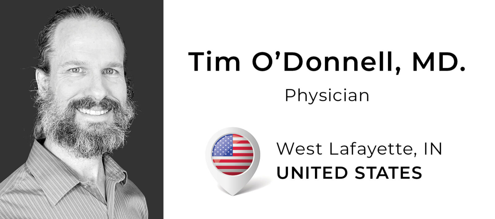 Tim O'Donnell, MD.