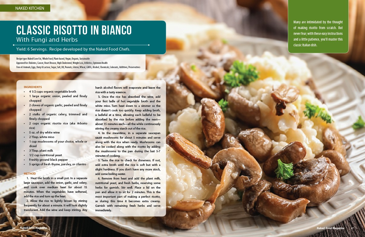 Naked Food Magazine | Red Carpet Event Menu