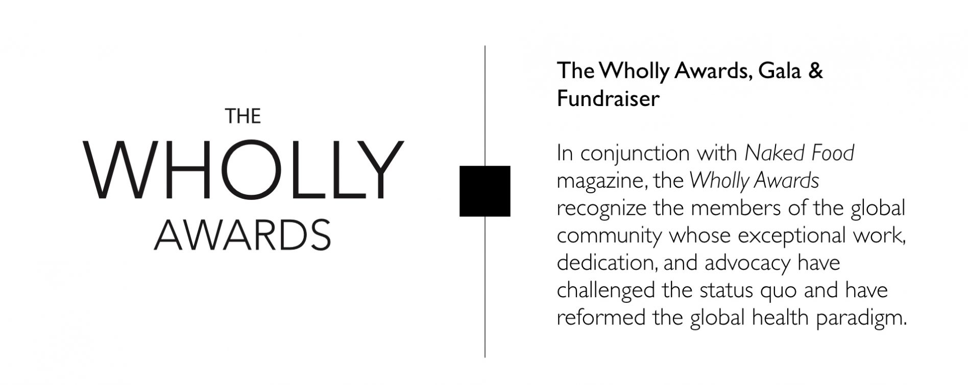 WFPB.ORG   Wholly Awards